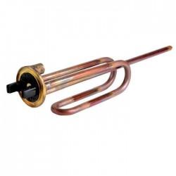 Résistance blindée + thermostat potence