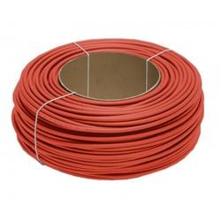 Câble solaire rouge au mètre