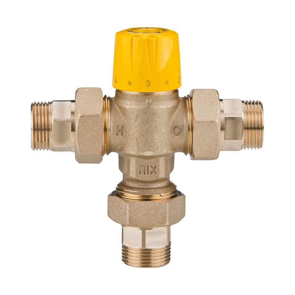 Mitigeur sanitaire 30 65 °C avec clapet anti-retour pour maintien de la température de puisage - conforme aux normes en vigueur
