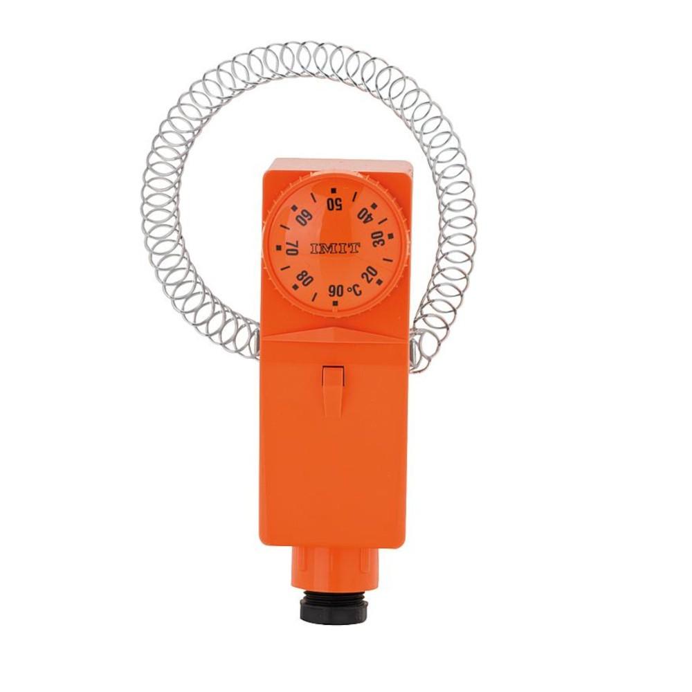 Aquastat de réglage à applique - plage 20 - 90°C