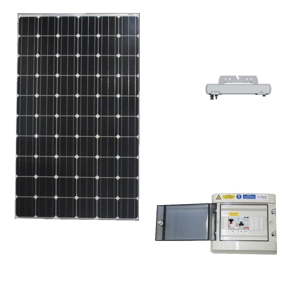 Kit photovoltaïque autoconsommation 300 Wc