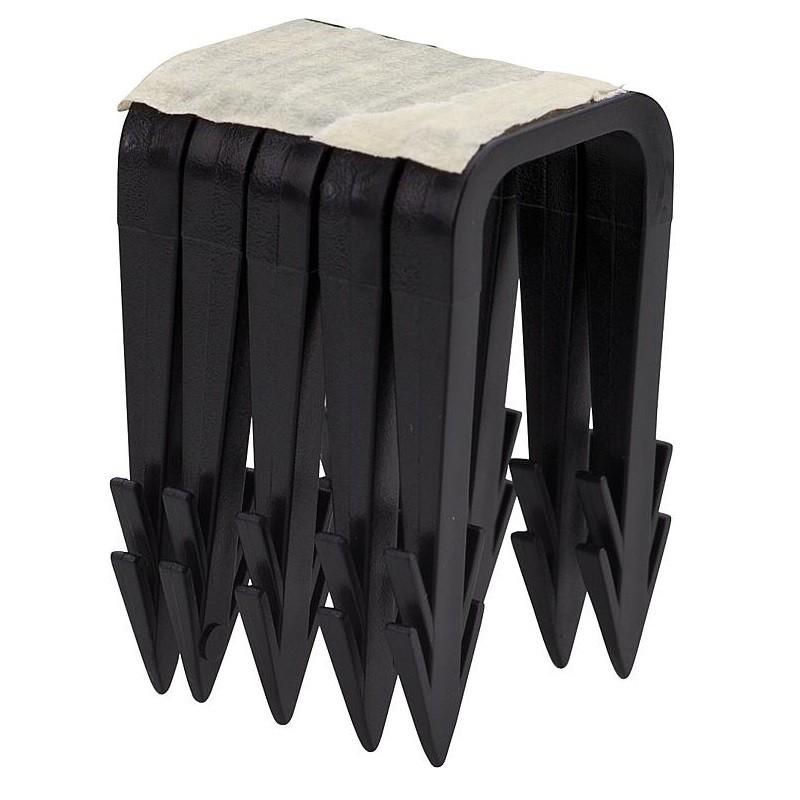 agrafes de fixation rails pour plancher chauffant