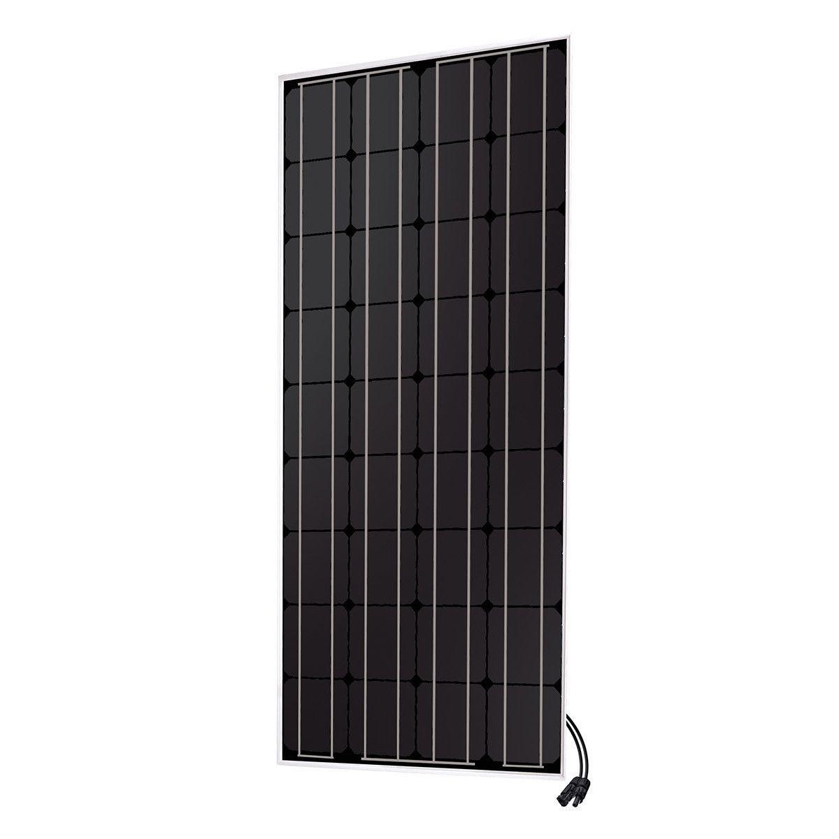 Panneau solaire monocristallin 100W - 12V