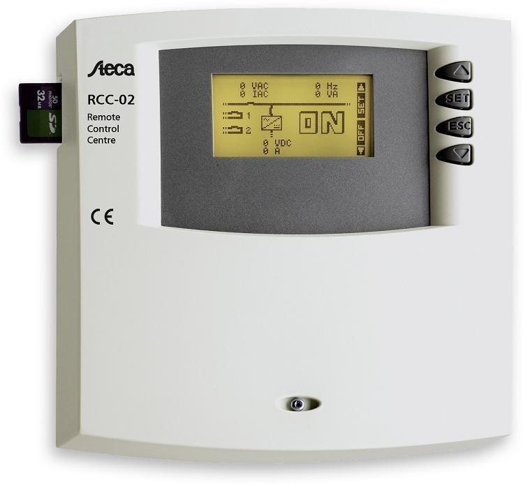 STECA RCC-02 Commande à...