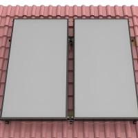 Supports et fixations pour panneaux solaires thermiques