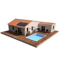 Kits chauffage solaire piscine, capteur plans, hybrides ...