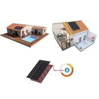 Kits chauffage chauffe-eau solaires hybride