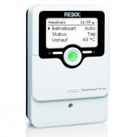 Régulations RESOL pour système de chauffage chaudière ou poêle à bois