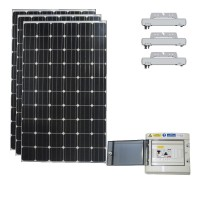Kits solaires photovoltaïque en autoconsommation de 300 à 3000 Wc