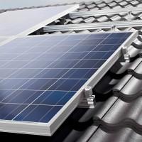 Fixations panneaux PV en toiture