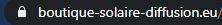 Paiement sécurisé boutique solaire diffusion